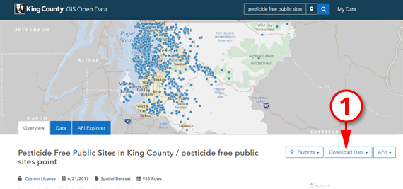 King County GIS Open Data - Download GIS Data on king county topo map, king county parcel search, king county landslide hazard map, king county demographics map,
